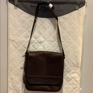 Kenneth Cole Leather tablet bag